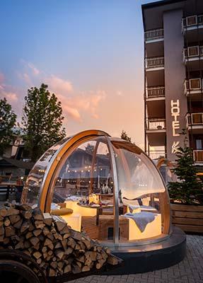 Aperitivo Bolle Hotel K2